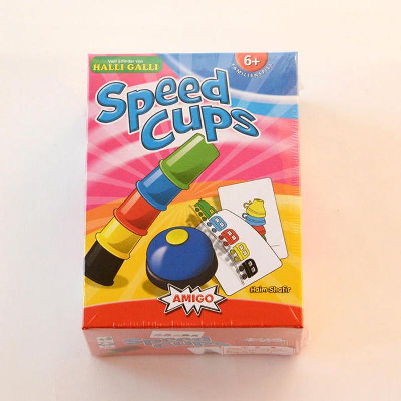 〈購入時期目安:6才〉【ゲーム/スピードを競う色合わせ】スピードカップス
