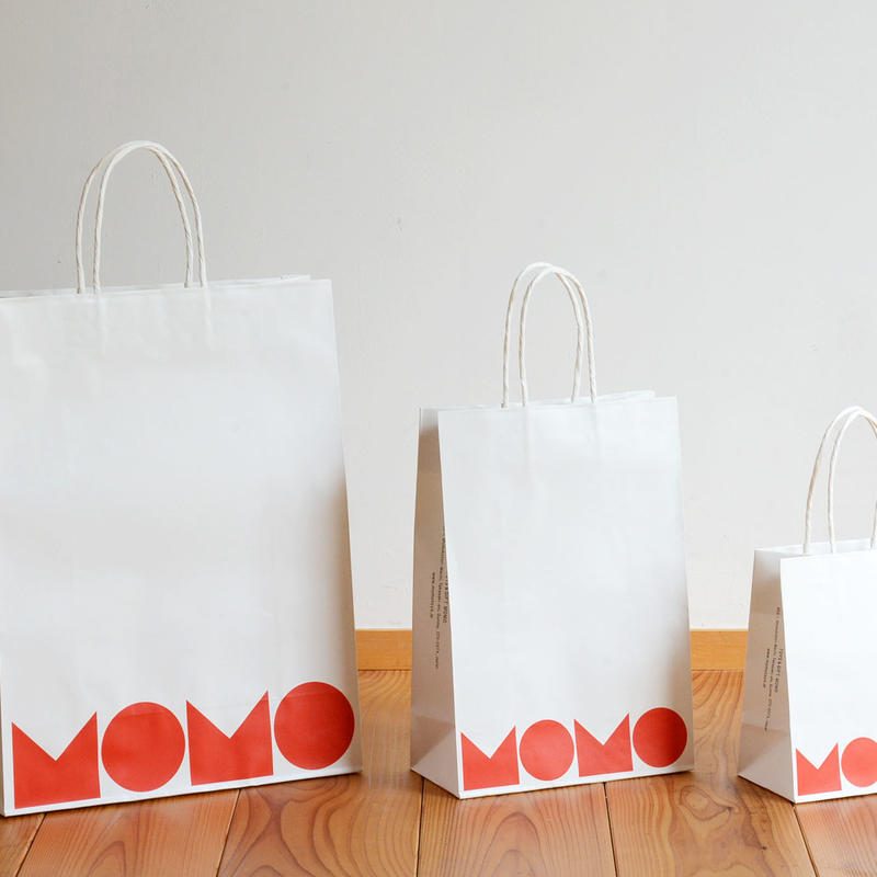【無料】MOMOオリジナルペーパーバッグ