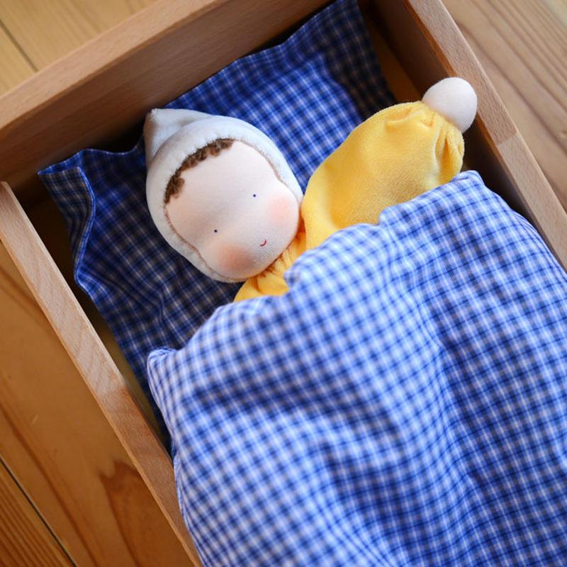 〈2才-7才〉【人形/布製】グリム ベビー ピンク / 黄 / 青
