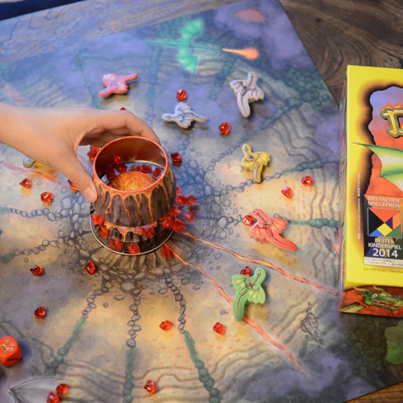 〈購入時期目安:5才〉【ゲーム/頭を使うすごろく遊び】ファイアドラゴン
