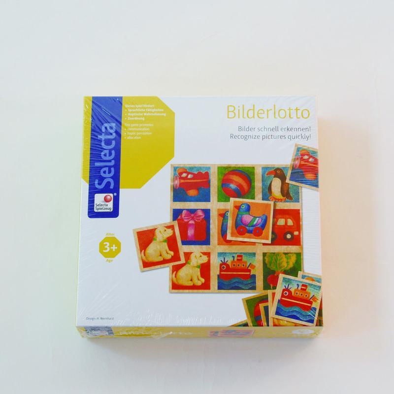 〈2-99才〉【はじめてのゲーム】【木製ゲーム/絵合わせ】ことばカード