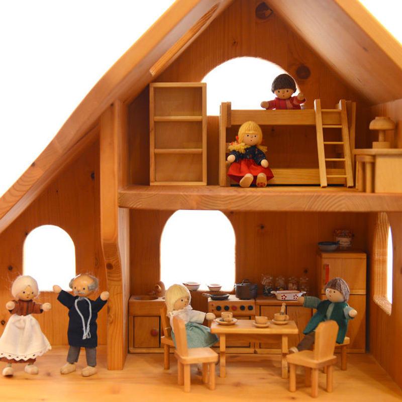 〈3才-〉【ドールハウス/本体(家のみ)】人形の家