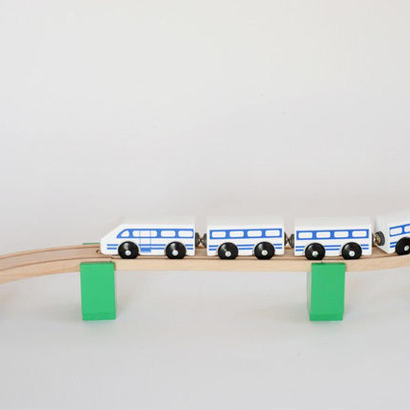【MICKI/橋用パーツ】橋げた 6ヶ 緑