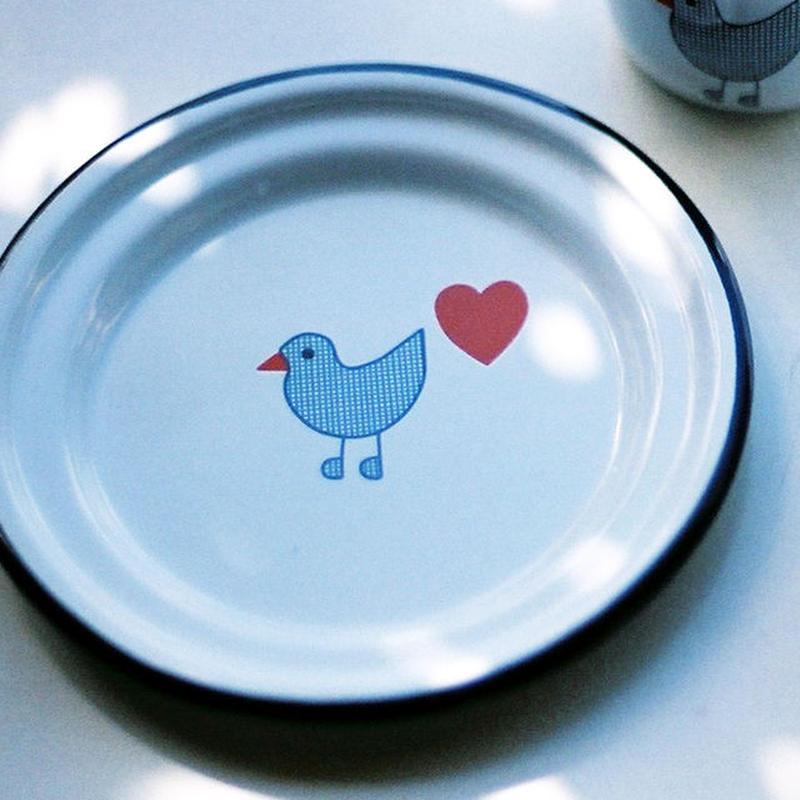 【ままごとキッチンツール】青い鳥 お皿