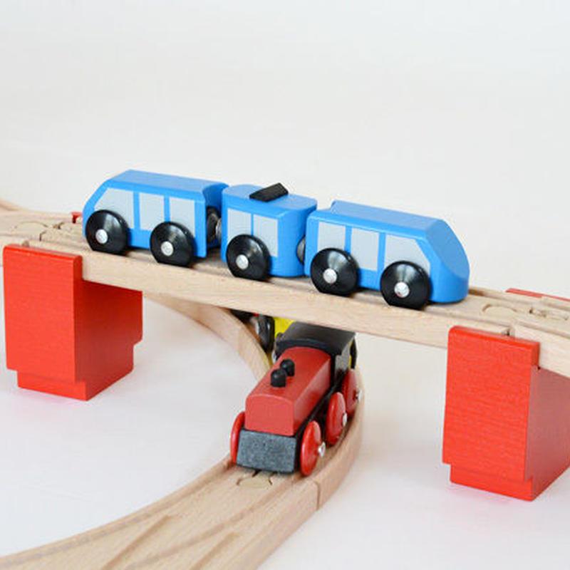 【MICKI/橋用パーツ】橋げた 6ヶ 赤