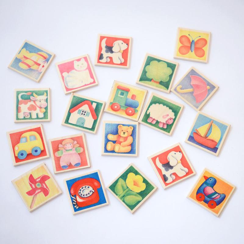 【2-99才】【はじめてのゲーム】【木製ゲーム/絵合わせ】ペアカード