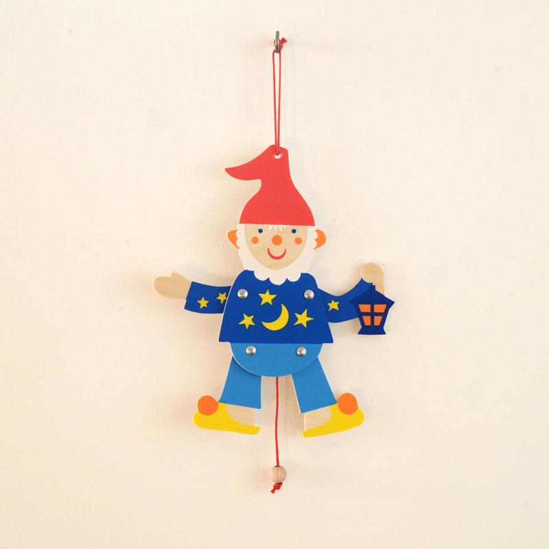 〈3才-5才〉【ひっぱる玩具】ミニハンペルマン 小人