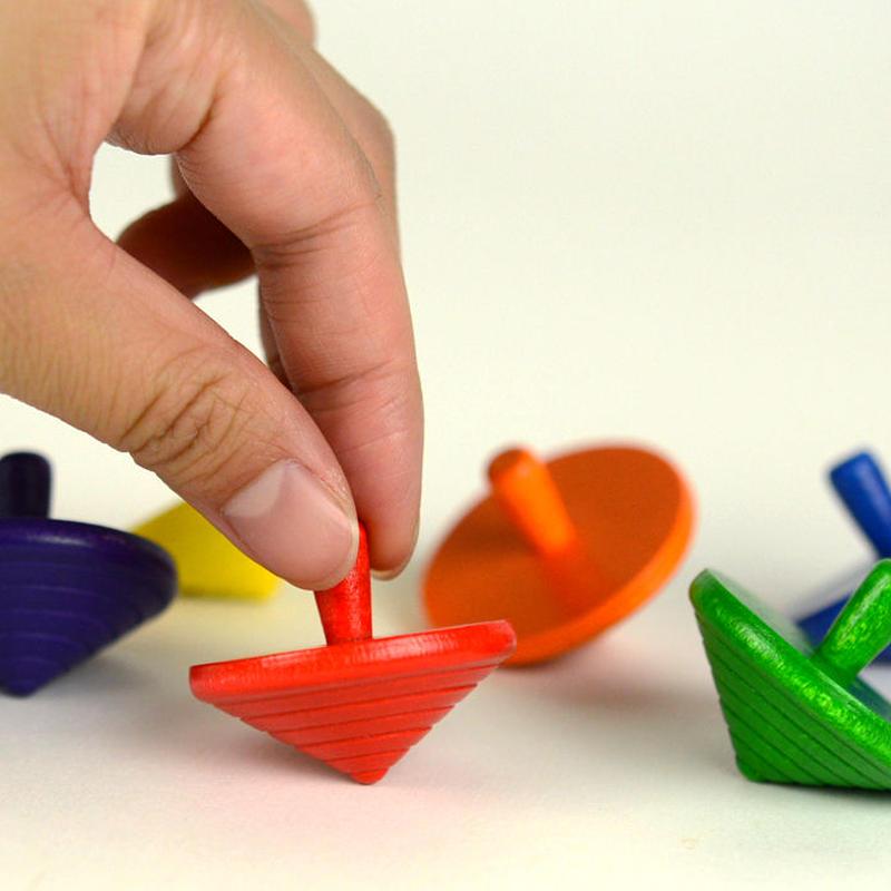 〈3才-〉【木製ゲーム/コマ】ネフコマ(小)※色は選べません。