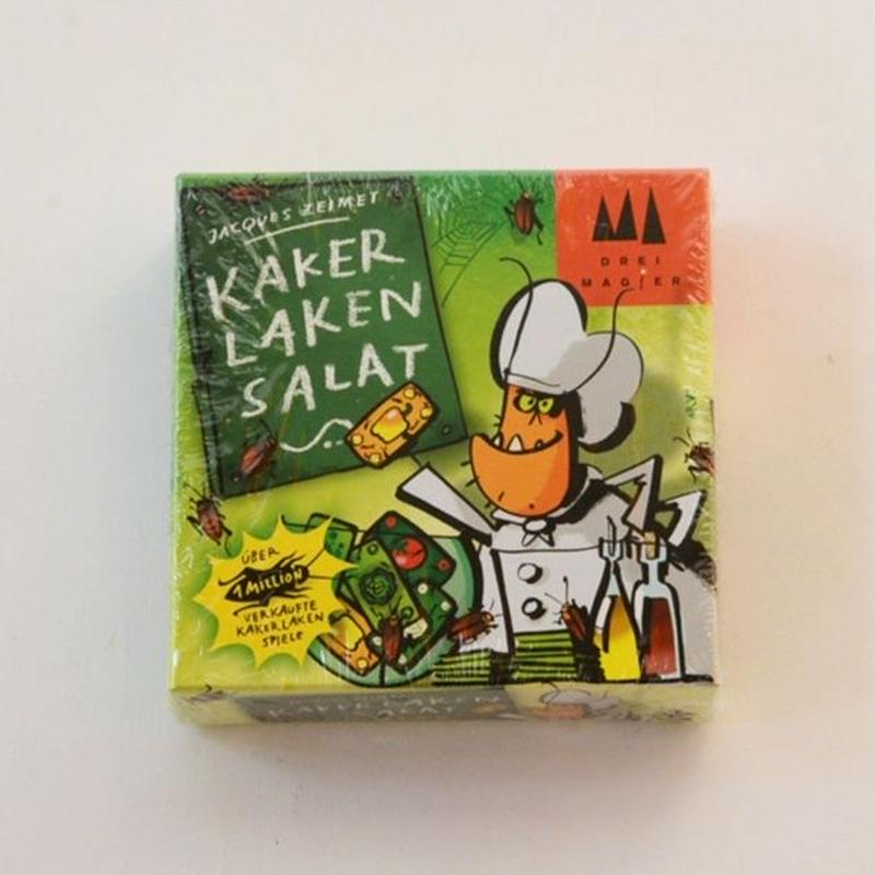 〈購入時期目安:6才-7才〉【ゲーム/記憶力を要することば遊び】ごきぶりサラダ