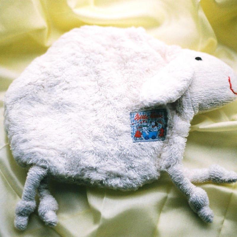 〈0才-〉【赤ちゃん用枕】チェリーピローひつじ
