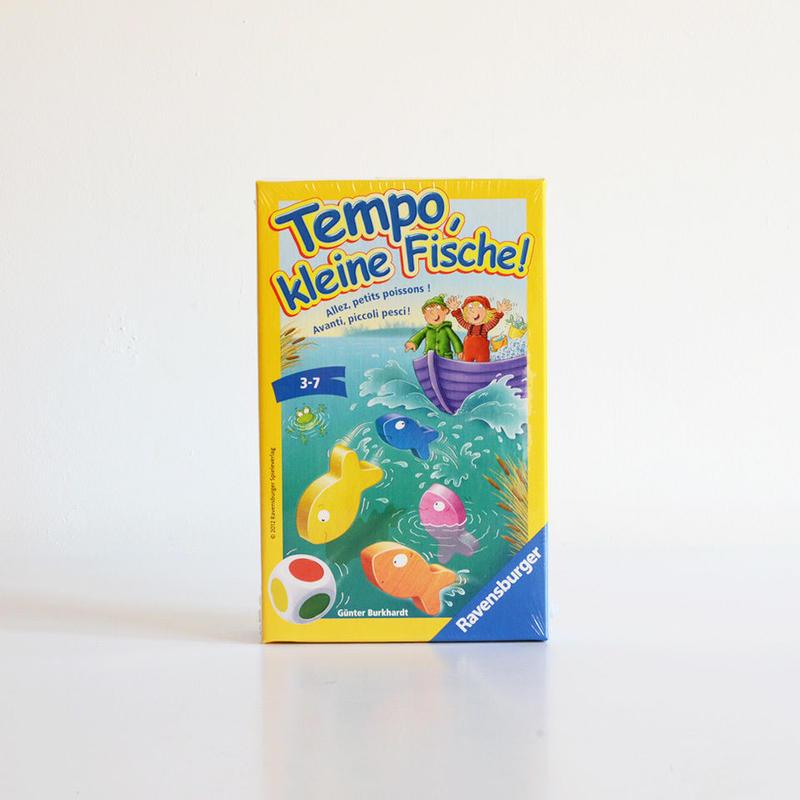 【3-7才】【簡単なすごろく遊び】テンポフィッシュ