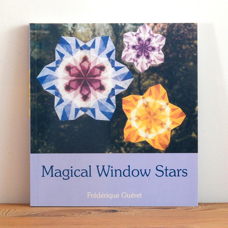 【洋書/トランスパレントペーパー】Magical Window Stars
