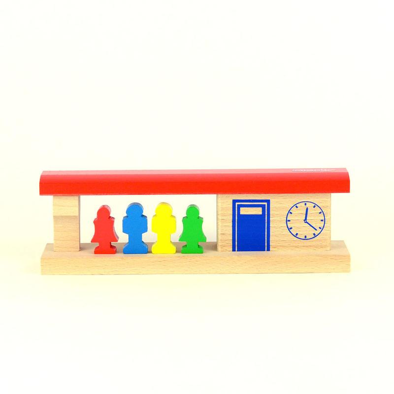 【MICKI/駅パーツ】駅と乗客