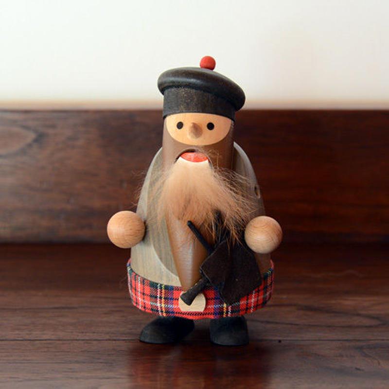 【クリスマス】くるみ割り人形 ひげ長のスコッティ