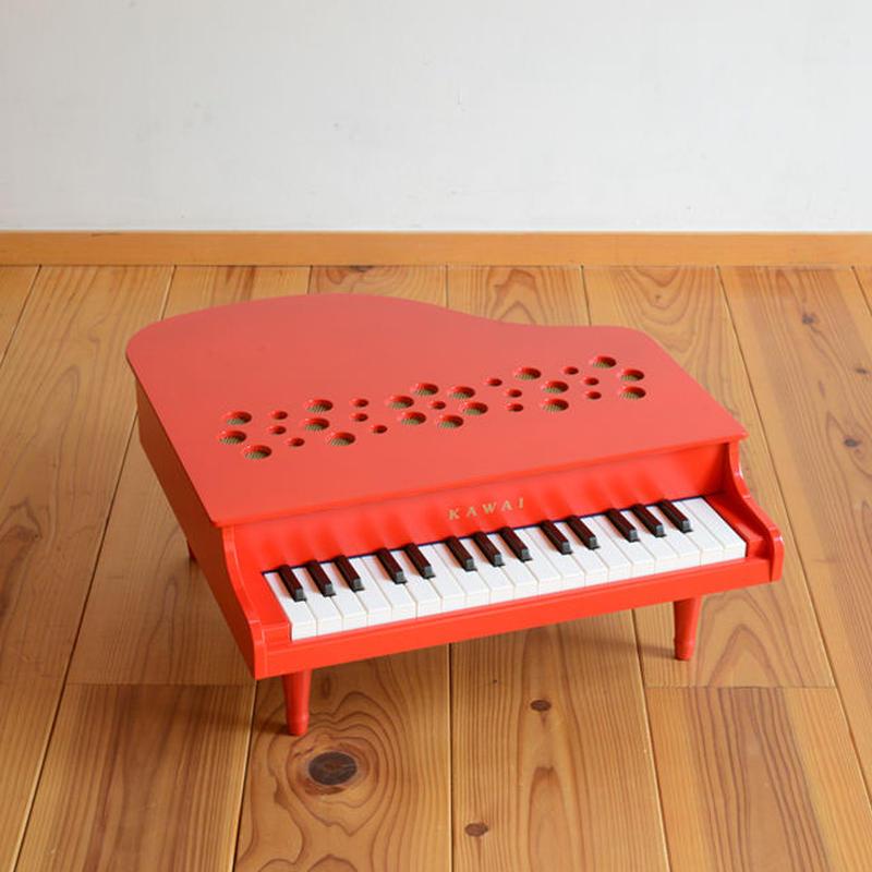 【ピアノ】KAWAI ミニピアノP-32(赤)