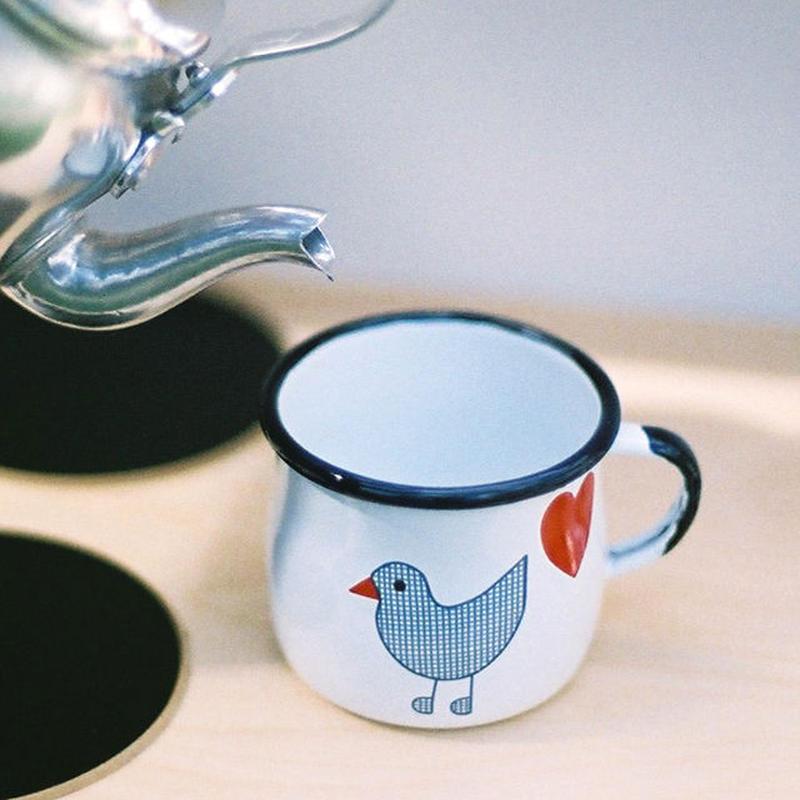 【ままごとキッチンツール】青い鳥 マグカップ