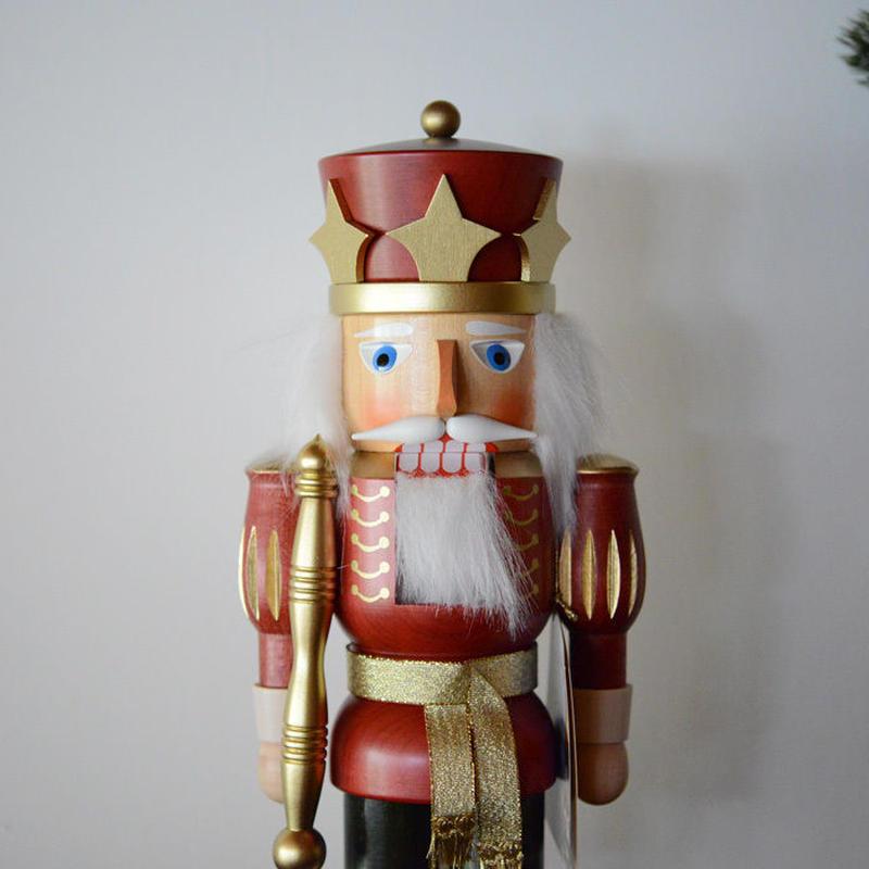 【クリスマス】くるみ割り人形 王様 赤