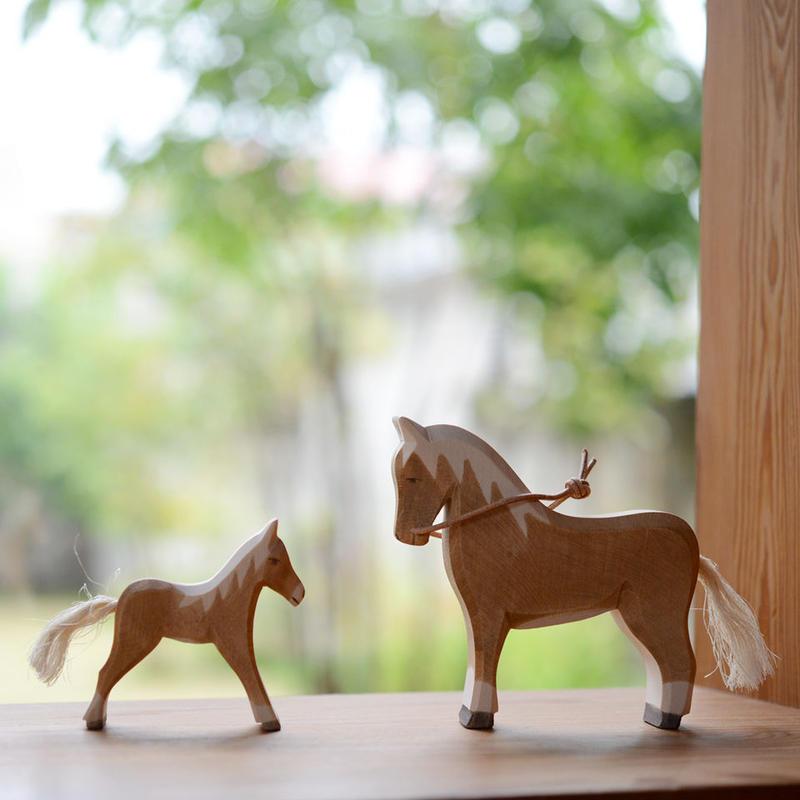〈2才-大人〉【想像力】【お話作り】オストハイマー  馬の親子