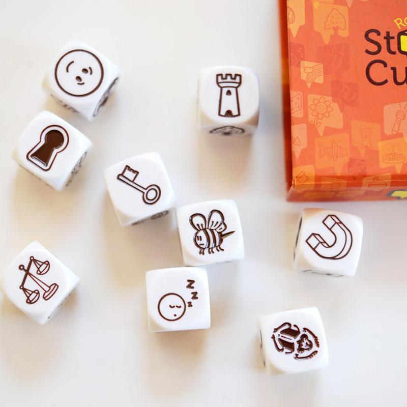 〈購入時期目安:4才-〉【ゲーム/ことば遊び】ストーリーキューブス オリジナル