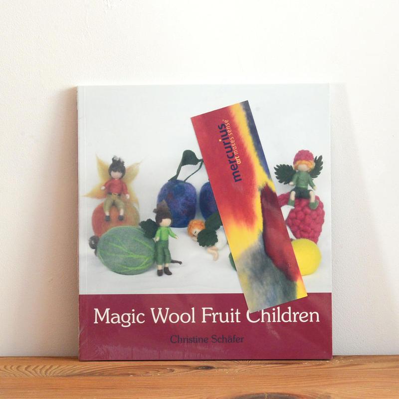 【洋書/羊毛】Magic Wool Fruit Children