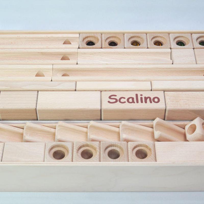 〈3才-〉【玉の道づくり玩具】スカリーノ3 (52ピース)