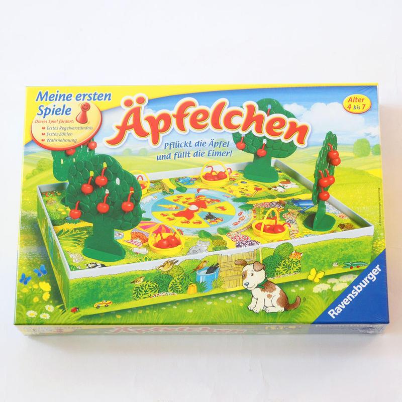 【4才】【器用さを必要とする遊び】【数】りんごゲーム