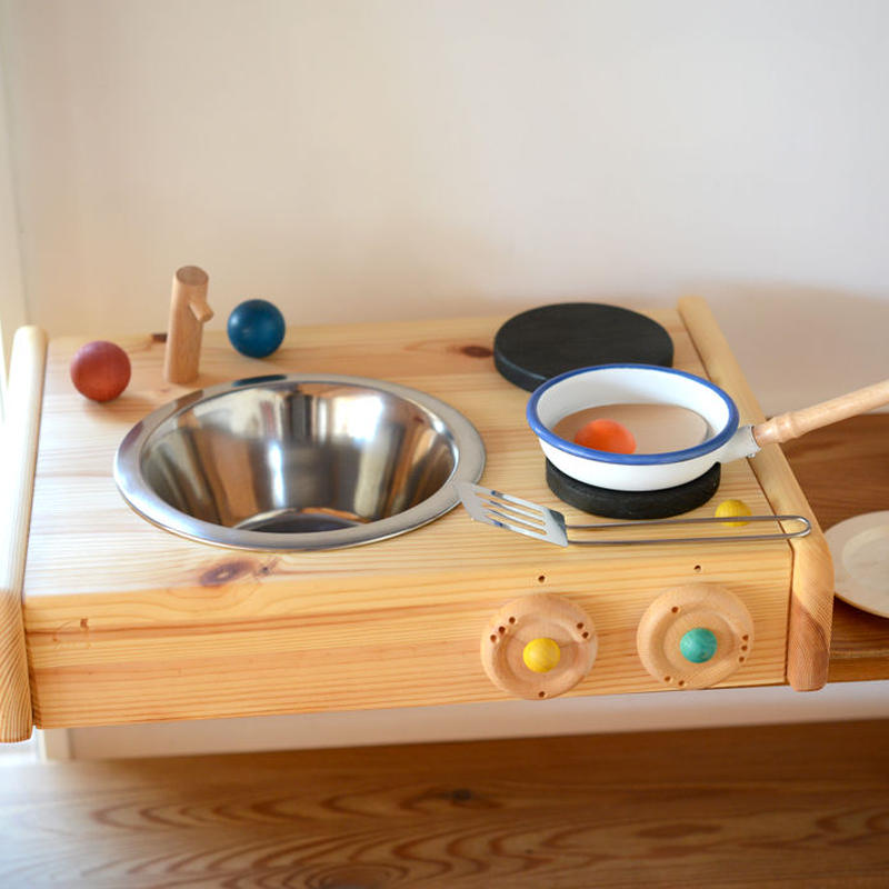 〈2才-〉【ままごと用キッチン】テーブルキッチン
