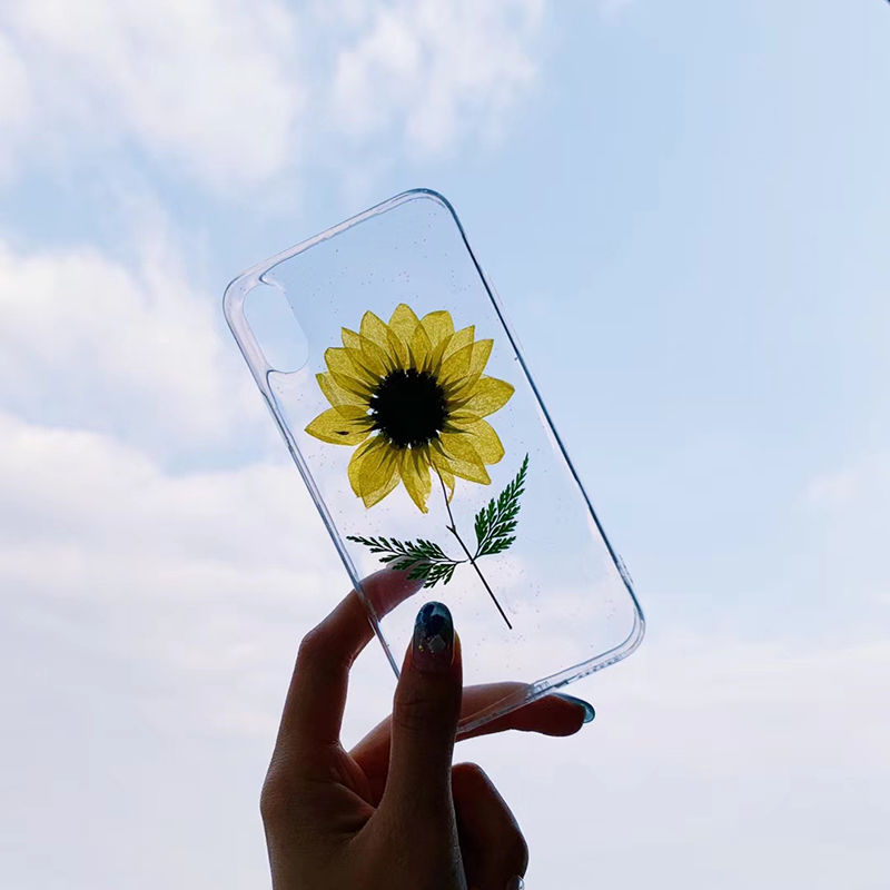 【N326】★iPhone 6 / 6s / 6Plus / 6sPlus / 7 / 7Plus / 8 / 8Plus / X / Xs ★iPhone ケース Sunflower