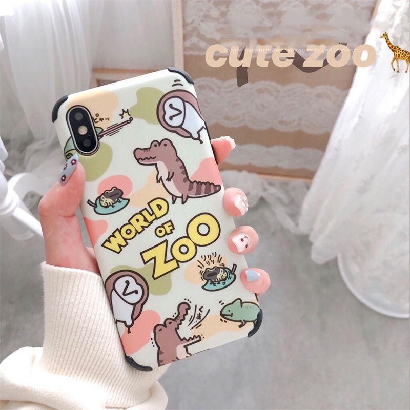 【N350】★ iPhone 6 / 6sPlus / 7 / 7Plus / 8 / 8Plus / X /XS /XR/Xs max★ シェルカバーケース Zoo