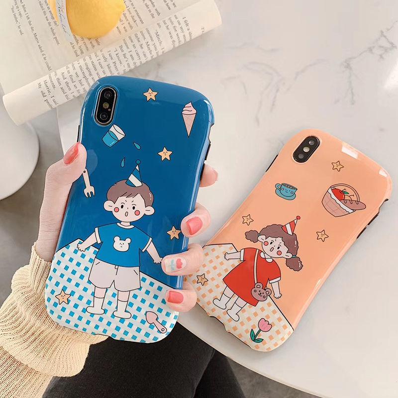 【N433】★ iPhone 6 / 6sPlus / 7 / 7Plus / 8 / 8Plus / X /XS /XR/Xs max★ シェルカバーケース  可愛い