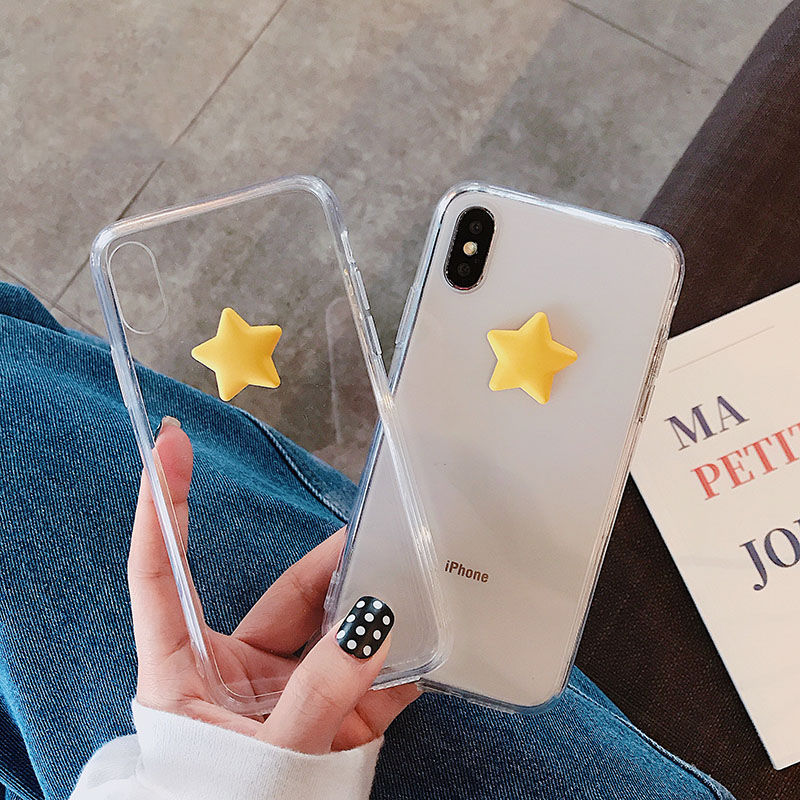 【N366】★iPhone 6 / 6s / 6Plus / 6sPlus / 7 / 7Plus / 8 / 8Plus / X / Xs ★iPhone ケース クリアStar