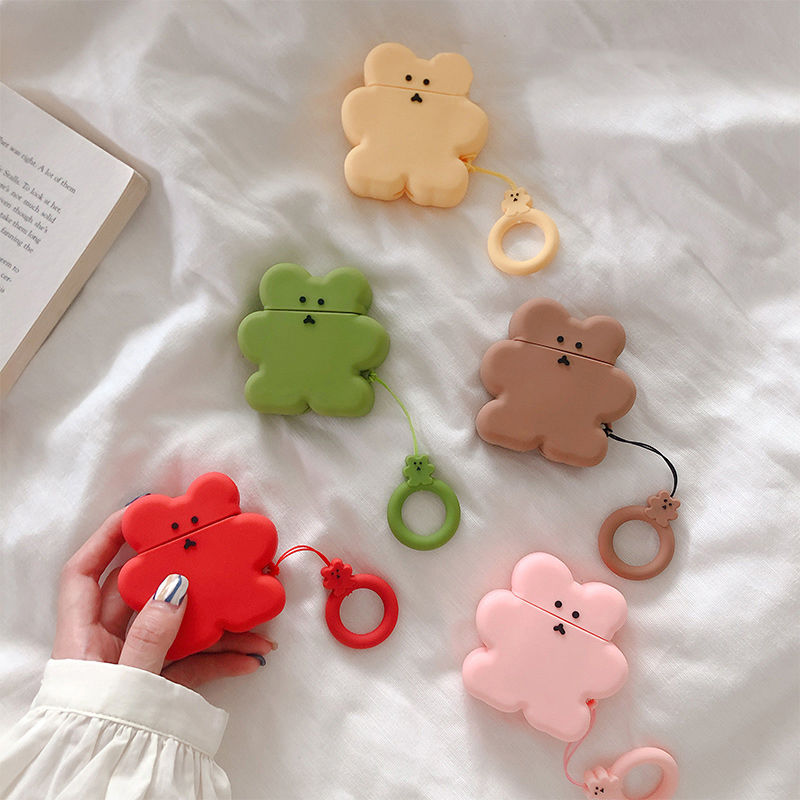 【MS115】♡Acessories♡airpods ケース カバー  BEAR