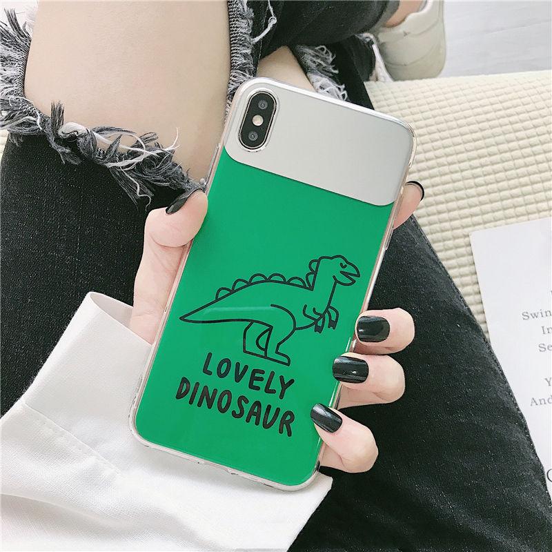 【N410】★iPhone 6 / 6s / 6Plus / 6sPlus / 7 / 7Plus / 8 / 8Plus / X / Xs ★iPhone ケース ミラー green