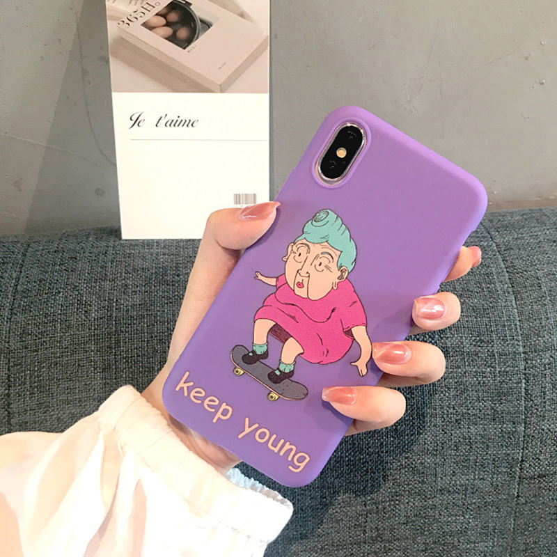 【M858】★ iPhone 6 / 6s / 6Plus / 6sPlus / 7 / 7Plus / 8 / 8Plus / X ★ シェルカバー ケース Keep Young