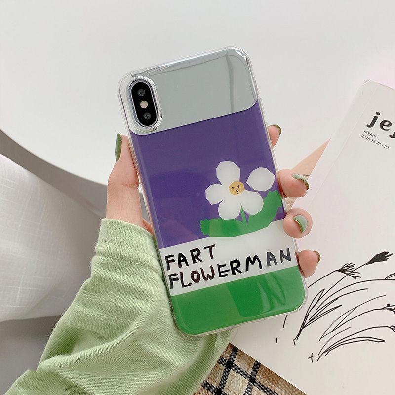 【N363】★iPhone 6 / 6s / 6Plus / 6sPlus / 7 / 7Plus / 8 / 8Plus / X / Xs ★iPhone ケース ミラー Purple