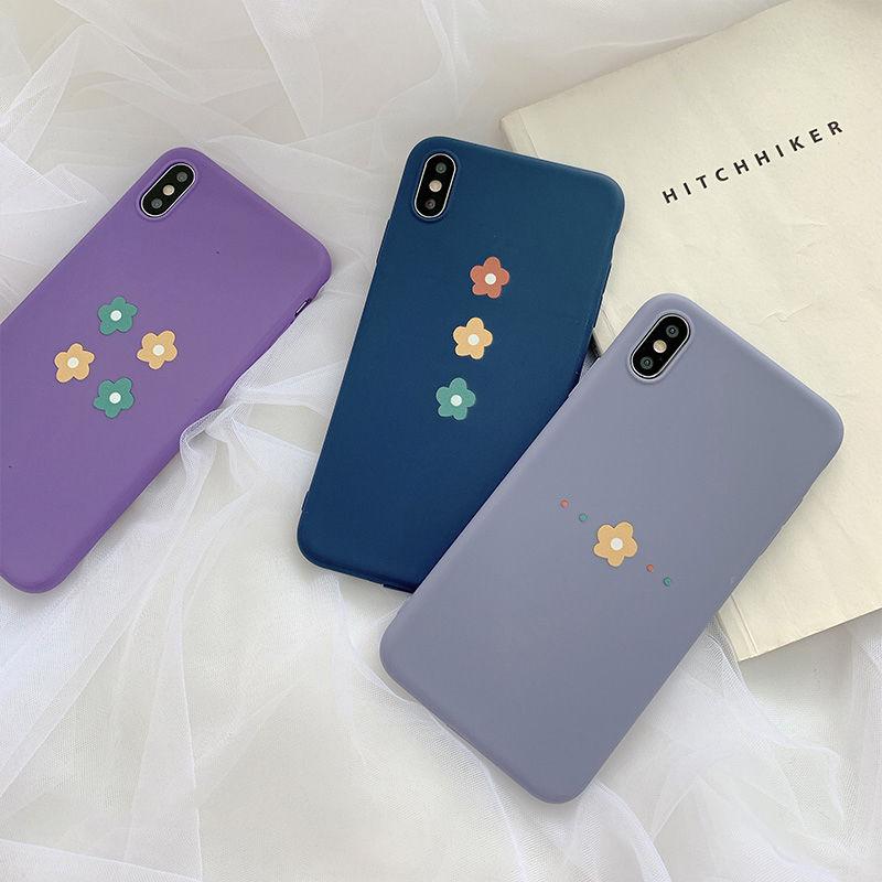 【N390】★ iPhone 6 / 6sPlus / 7 / 7Plus / 8 / 8Plus / X/ XS / Xr /Xsmax ★  シェルカバー ケース Flowers