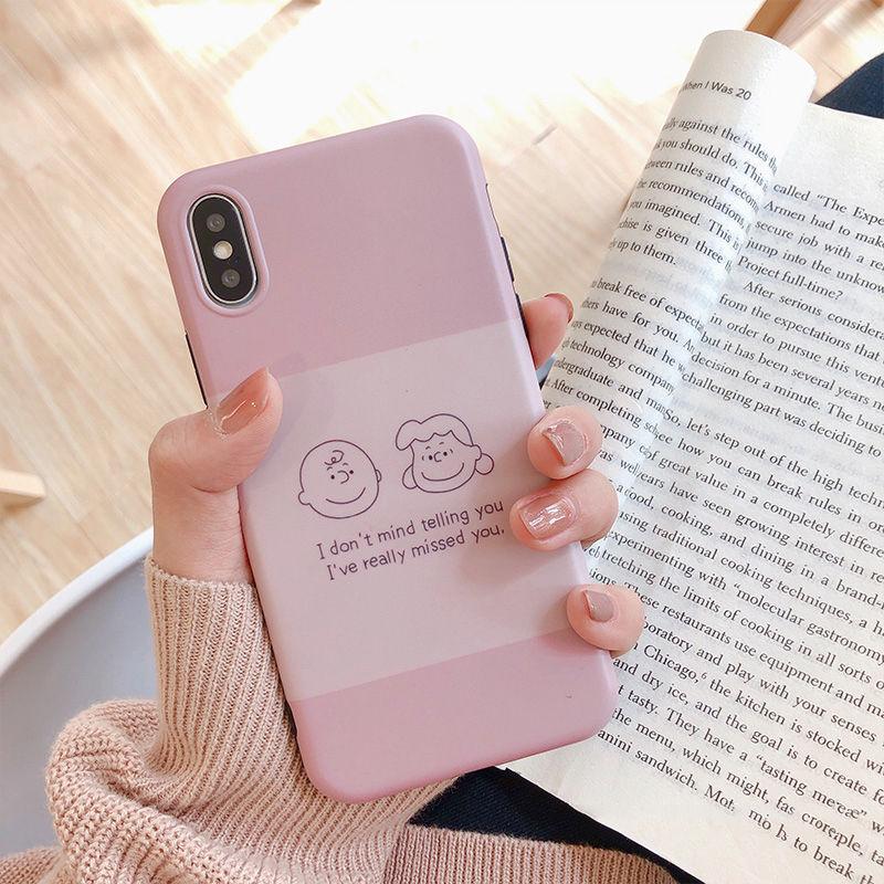 【N242】★ iPhone 6 / 6sPlus / 7 / 7Plus / 8 / 8Plus / X/XS / Xr /Xsmax ★ シェルカバー ケース Pink