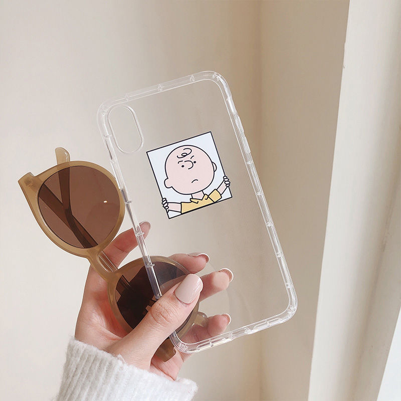 【N324】★iPhone 6 / 6s / 6Plus / 6sPlus / 7 / 7Plus / 8 / 8Plus / X / Xs ★iPhone ケース Clear