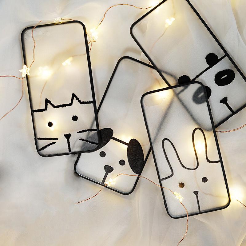 【M394】★ iPhone 6s /6Plus / 6sPlus / 7 / 7Plus / 8 / 8Plus / X ★ シェルカバー ケース アニマル