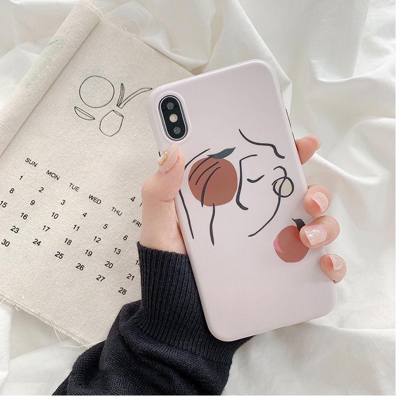 【N579】★iPhone 6 / 6s / 6Plus / 6sPlus / 7 / 7Plus / 8 / 8Plus / X / Xs ★iPhone ケース いちご