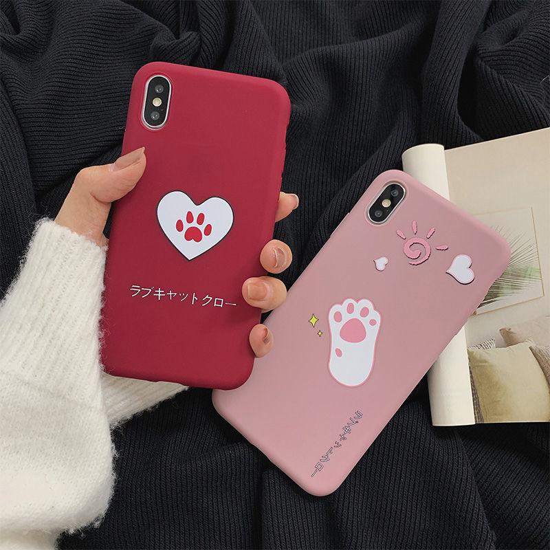 【N340】★ iPhone 6 / 6sPlus / 7 / 7Plus / 8 / 8Plus / X /XS /XR/Xs max★ シェルカバーケース so cute