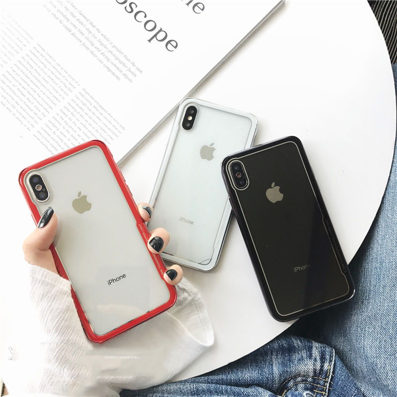 【M750】★ iPhone 6 / 6s / 6Plus / 6sPlus / 7 / 7Plus / 8 / 8Plus / X ★ シェルカバーケース シンプル クリア