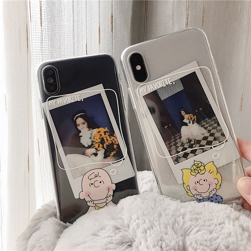【N360】★ iPhone 6 / 6sPlus / 7 / 7Plus / 8 / 8Plus / X /XS /XR/Xs max★ シェルカバーケース Boy and Girl