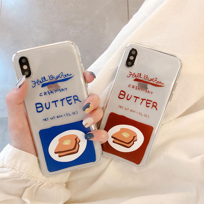 【N535】★ iPhone 6 / 6sPlus / 7 / 7Plus / 8 / 8Plus / X /XS /XR/Xs max★ シェルカバーケース Butter
