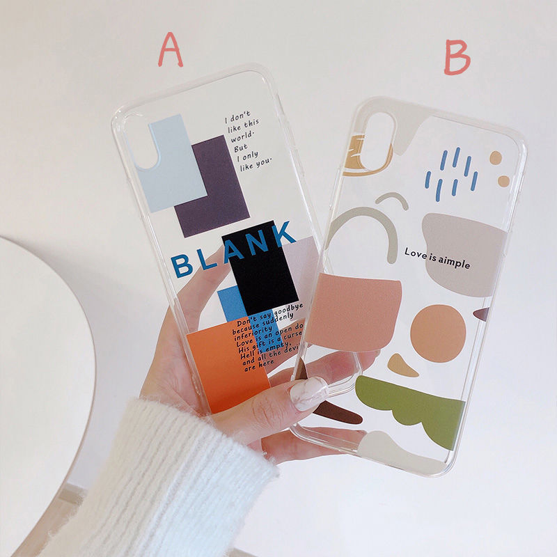 【N186】★ iPhone 6 / 6sPlus / 7 / 7Plus / 8 / 8Plus / X/XS / Xr /Xsmax ★ シェルカバー ケース シンプル Clear
