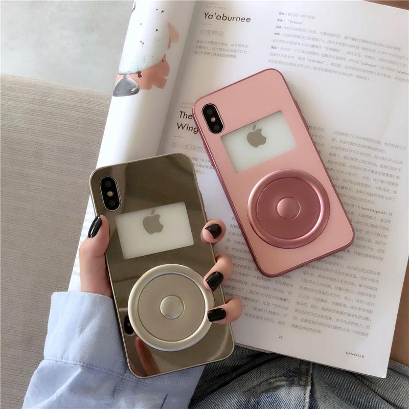 【M939】★ iPhone 6 / 6sPlus / 7 / 7Plus / 8 / 8Plus / X/XS/XR/Xs Max ★ シェルカバー ケース Mirror iPod