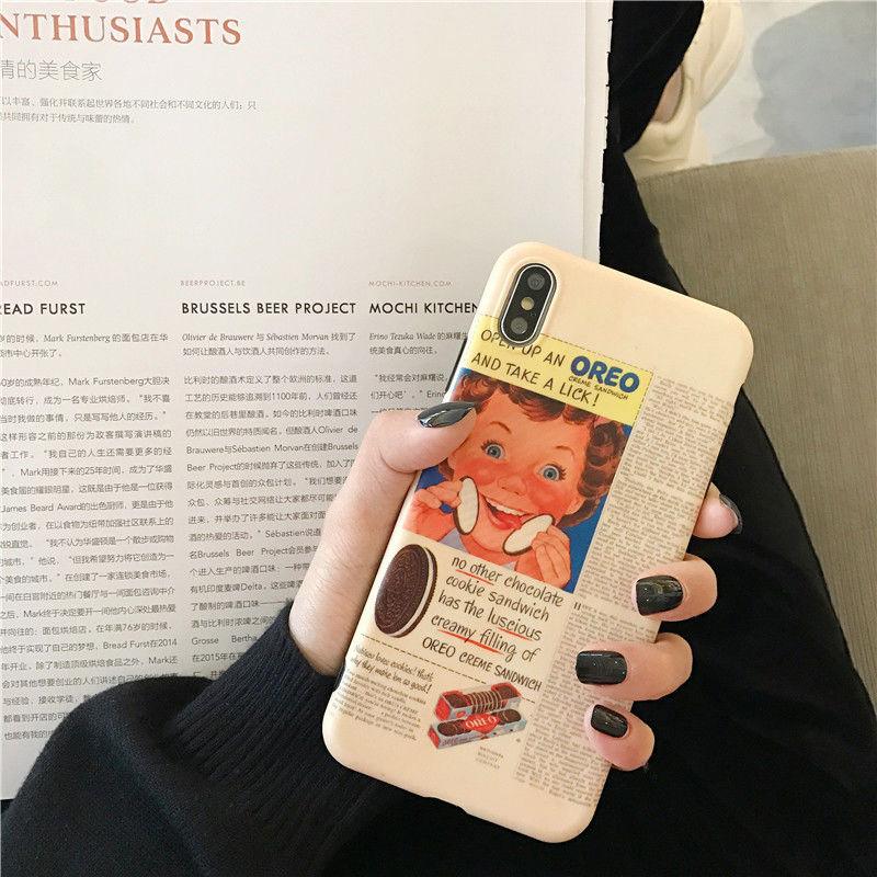 【N251】★ iPhone 6 / 6sPlus / 7 / 7Plus / 8 / 8Plus / X/ XS / Xr /Xsmax ★ シェルカバー ケース Retro Newspaper
