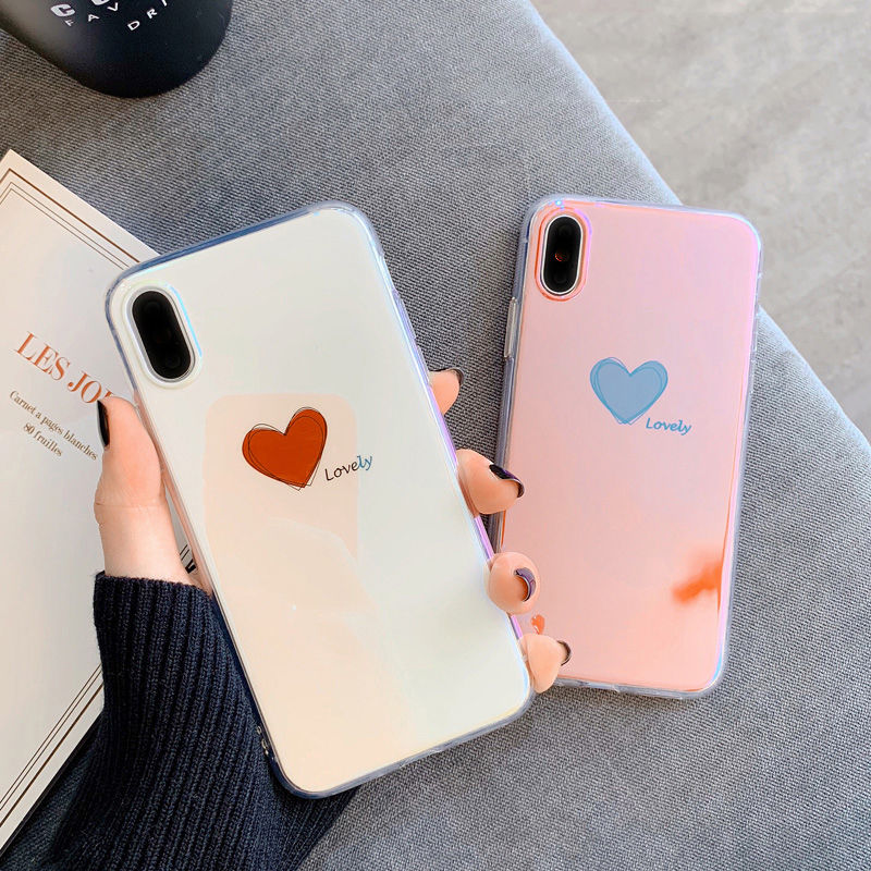 【N403】★ iPhone 6 / 6sPlus / 7 / 7Plus / 8 / 8Plus / X /XS /XR/Xs max★ シェルカバーケースHeart