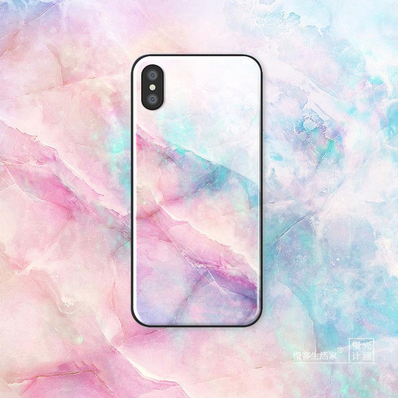 【M735】★ iPhone 6 / 6sPlus / 7 / 7Plus / 8 / 8Plus / X / Xs /XR / Xs Max★ シェルカバー ケース Pink Marble Case