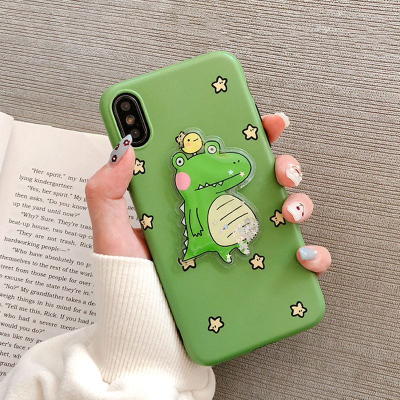 【N385】★iPhone 6 / 6s / 6Plus / 6sPlus / 7 / 7Plus / 8 / 8Plus / X / Xs ★iPhone ケース Green